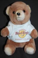 "WASHINGTON DC HARD ROCK CAFE TEDDY BEAR STUFFED 8"" PLUSH ANIMAL LOVEY TOY DOLL"