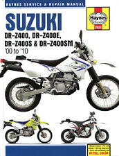 Suzuki Dr-z 400 S 2005 Haynes Service Repair Manual 2933