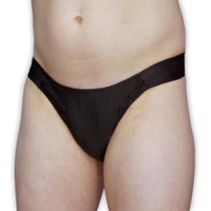 Janet's Gaff Black - Crossdresser Panties Smooth Tuck