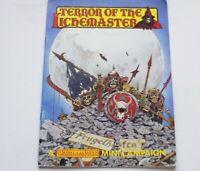 TERROR OF THE LICHEMASTER A WARHAMMER MINI CAMPAIGN BOOK