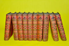 WAVERLEY NOVELS CENTENARY EDITION COLLECTION OF 10 BOOKS. NOT FULL SET