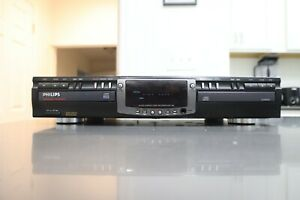 Philips CDR 765/17 Dual Tray CD Recorder Recordable Rewritable