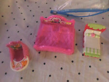 "Doll House Furniture Bed 3""x2"" 4""x5"" Bed 3"" Bed 3"" Chair Misc. Parts Toys"