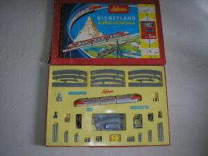 Schuco Disneyland Monorail Einschienenbahn SET 6333 W sehr selten rar