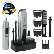 Cordless Beard and Hair Clipper Trimmer Shaver Wahl Nose Mustache Men Mens Razor