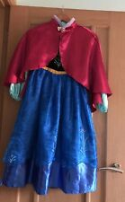 Anna Frozen Costume From Disney Store age 7-8 years