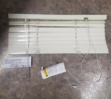"1"" Aluminum blinds Alabaster Color 32"" x 24"""