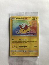 Pokemon Ash's PIKACHU I Choose You Movie Promo Card SEALED Limited Edition
