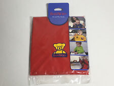 BabyBjorn Eat & Play Smock Protects Against Spots & Spills Red