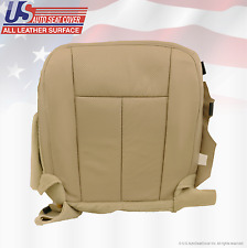 2011 2012 Ford Expedition Limited Driver Bottom Perforated Leather-Cover Tan
