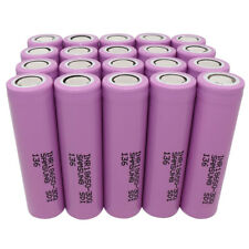 20x 18650 INR 3400mAh Li-ion Rechargeable Battery 30-50A Flat Top High Drain