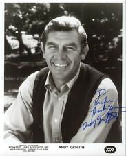Andy Griffith - Inscribed Photograph Signed