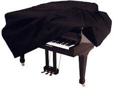 "Grand Piano Cover Black Mackintosh Heavy Duty 4'10"" - 5'2"" Made in USA"