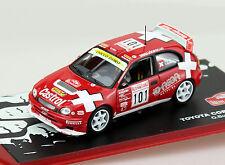 Toyota Corolla WRC Rally Monte Carlo 2003 #101  1:43 Ixo/Altaya Modellauto