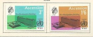 1966 WHO set 2 Mint Hinged