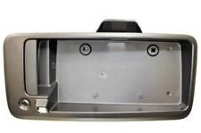 Rear Back Door Tailgate Handle with License Plate Holder with Camera Hole