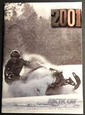"2001 Arctic Cat Snowmobile Sales Brochure 22 Pages 5"" x 7"" (707)"
