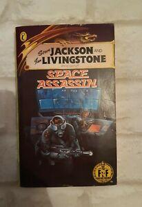 Space Assassin Fighting Fantasy Jackson Livingstone Rare 1985 12