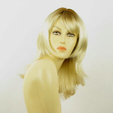 mid length wig for women clear golden blond ref: LILI ROSE ys PERUK