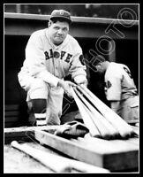 Babe Ruth #7 Photo 8X10 - Boston Braves 1935  Buy Any 2 Get 1 FREE