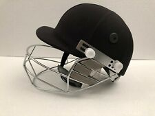 Black Ash Pro Cricket Batting Helmet Adjustable Black