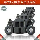 W10195416V Dishwasher Lower Dishrack Wheel W10195416 W10105417 for Whirlpool 4Pc photo