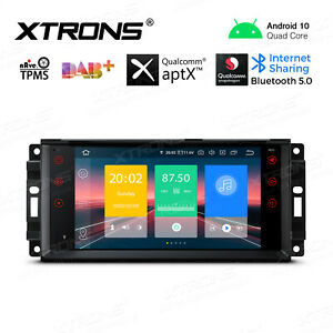 """7"""" Android 10.0 Car Radio GPS Bluetooth 5.0 Head Unit for Jeep Dodge Chrysler"""
