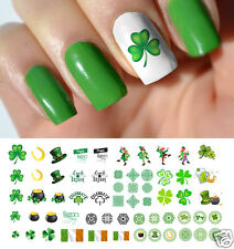 St. Patrick's Day Luck of the Irish Assortment Nail Art Waterslide Decals