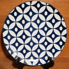 Certified International Blue & White Salad plate, 8 3/4, Excellent