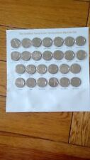 2  FULL SETS YES 2 SETS OF 10 PENCE A-Z COINS [from bank bags] @ A BARGAIN PRICE