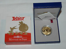 France asterix 1/2 Oz moneda de oro 2007 Monnaie de Paris Gold 20 Euros Francia