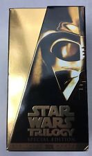 Star Wars Trilogy VHS Gold Box Set Special Edition 1997 Digitally Remastered