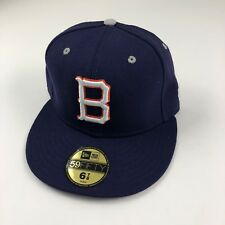 Adult Size 6 7/8 55cm New Era Denver Broncos Blue Flex Fit NFL Hat