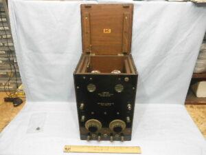 1921 COLIN B. KENNEDY Type 525 Two Stage Amplifier -Earliest Audio Amplifier NR