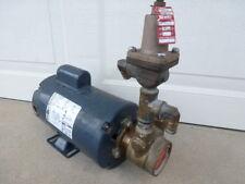 Used Procon 104l215f11xx Brass Pump Bluffton 4101007408 1 Phase Electric Motor
