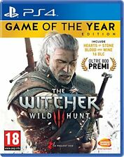 Namco Ps4 The Witcher 3 Wild Hunt GOTY 112117