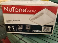Nutone Ventillation Fan Bathroom Fan Exhaust 763RLN NEW Unused.