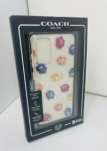 NEW Coach Protective Case for Samsung Galaxy S20+ Plus - Peony Rainbow Clear