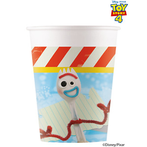 Disney Toy Story 4 Party Supplies- Pack 8 Party Cups