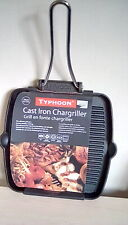 Typhoon Cast Iron Square Chargrill Pan