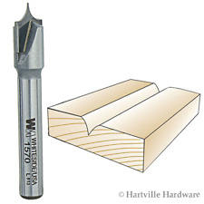 Whiteside #1570 Point Cutting Roundover Decorative Trimming/Lettering Router Bit