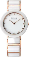 Bering Women's Watch 11429-766 Analog Stainless Steel, Ceramic Rosé