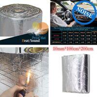 200cm×100cm Car Sound Deadener Heat Noise Proof Insulation Deadening Mat Hood