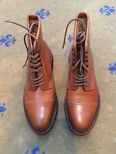 New John Lobb Womens Shoes Brown Leather boots UK 5.5 US 7.5 38.5 Ladies Combat