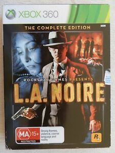 Xbox 360 - L.A. Noire The Complete Edition - Good Condition Including Manual