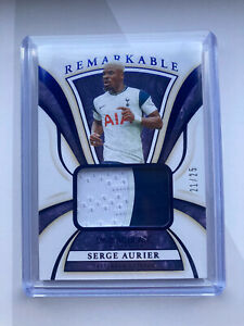 Serge Aurier Tottenham Remarkable Game Worn Patch 21/25 Immaculate Collection