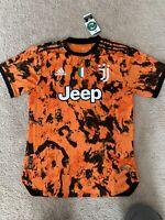 Adidas 2020-2021 Juventus Third Jersey Ronaldo #7 Size Large