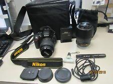 Nikon D D5100 16.2MP Digital SLR Camera - Black (Kit w/ AF-S  18-55mm(20538 MSS