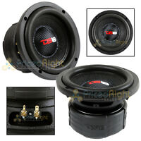 "DS18 Elite Z6 6.5"" Subwoofer Dual 4 Ohm 600 Watts Max Bass Sub Speaker Car"
