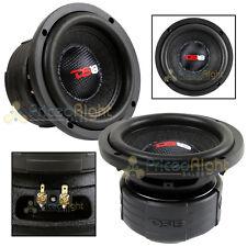 "DS18 Elite Z6 6.5"" Subwoofer Dual 4 Ohm 600 Watts Max Bass Sub Speaker Car"
